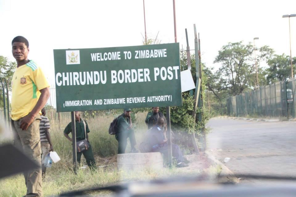 Chirundu border post- one-stop border between Zimbabwe and Zambia