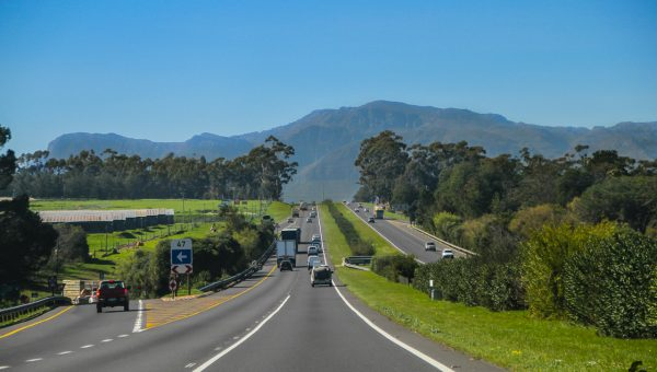 On the road in Paarl - Western Cape - South Africa